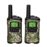 Alecto  FR115CAMO set van 2 walkie talkies, Camouflage