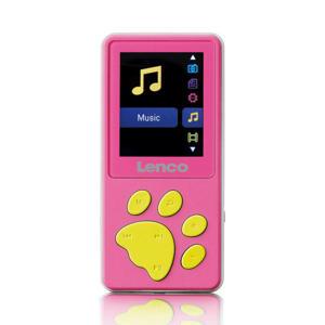 XEMIO-560PK KM xMP3/MP4 speler met 8GB geheugen - Pink