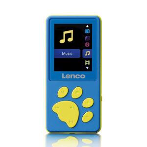 XEMIO-560BU KM xMP3/MP4 speler met 8GB geheugen - Blue