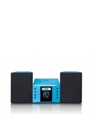 Stereo set met FM radio en CD speler - Blauw