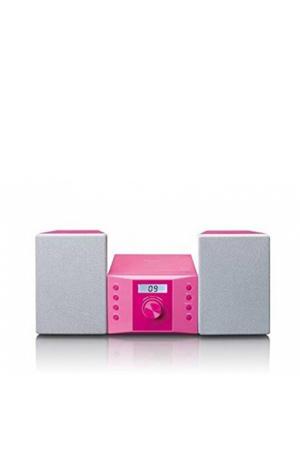 Stereo set met FM radio en CD speler - Roze
