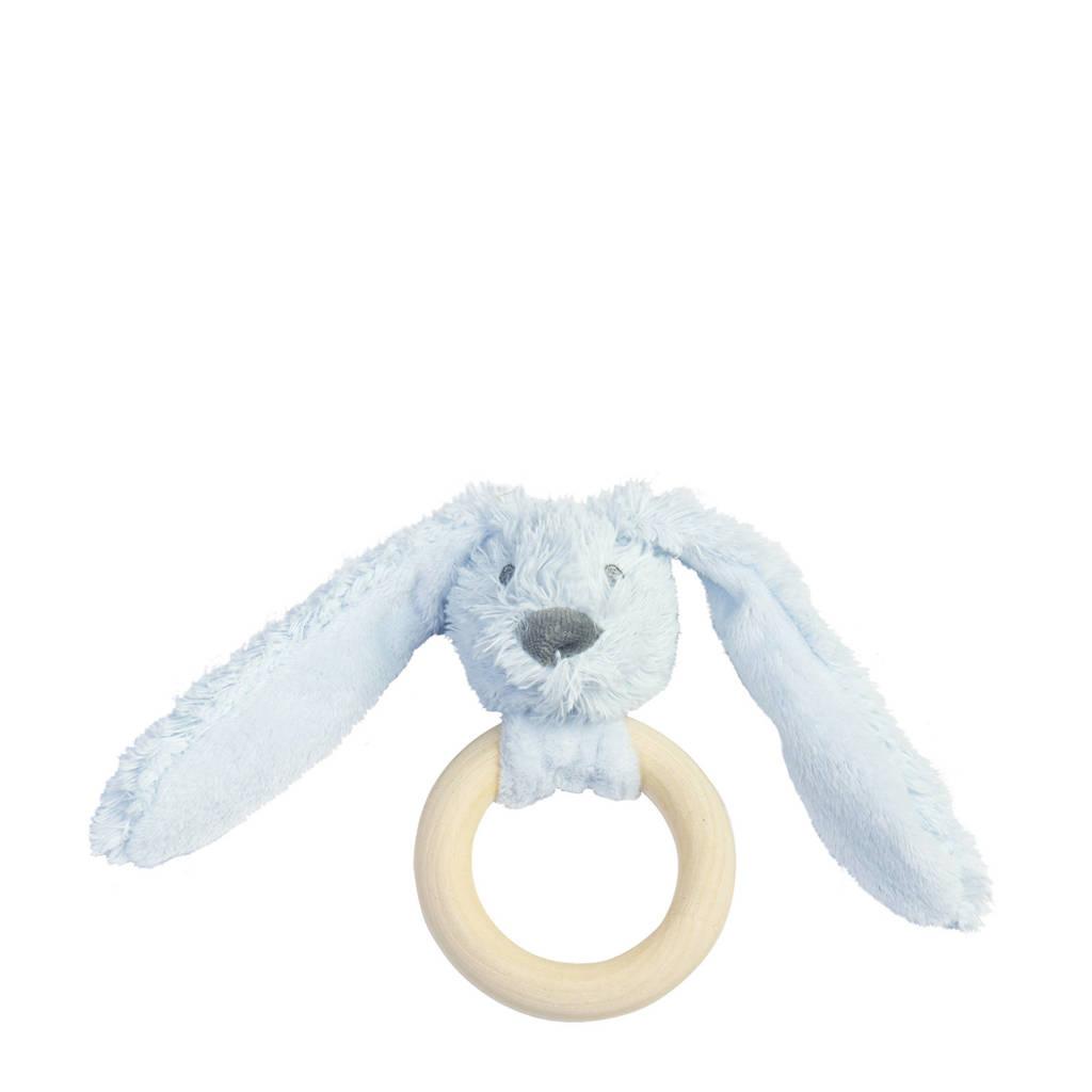 Happy Horse Blue Rabbit Richie FSC Wooden Teething Ring