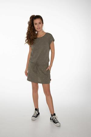 jurk NXG Coconut olijfgroen