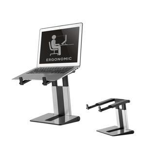 """NSLS200 10""""-17"""" laptopstandaard (zilver)"""