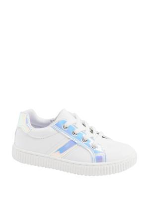 sneakers wit/metallic