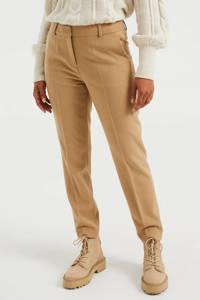 WE Fashion slim fit pantalon biscuit melange, Biscuit Melange