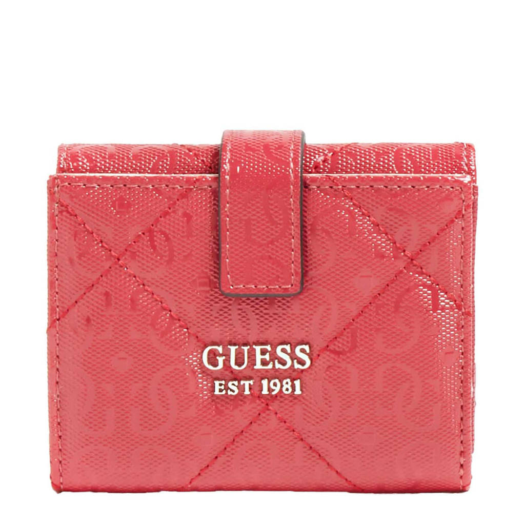 GUESS portemonnee Dilla rood, Rood