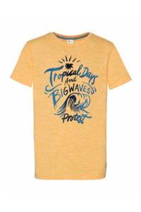 Protest T-shirt Lucien geel, Mellow Yellow