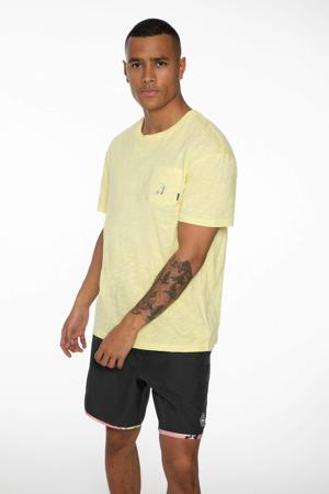 T-shirt Hobbes geel