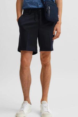 regular fit chino short Pete donkerblauw