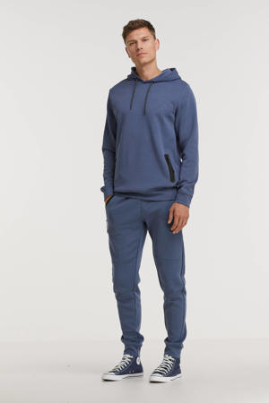 slim fit broek Lax blauw