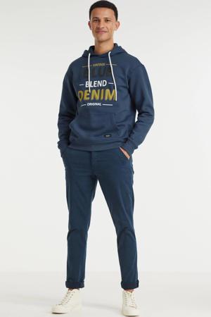 slim fit broek dress blue