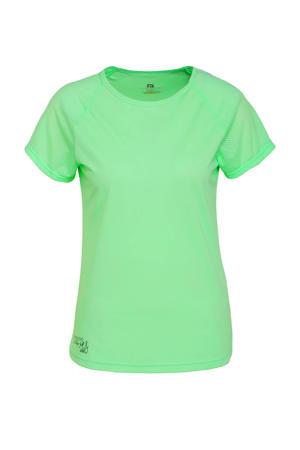 Viitapohja Hardloop t-shirt lichtgroen