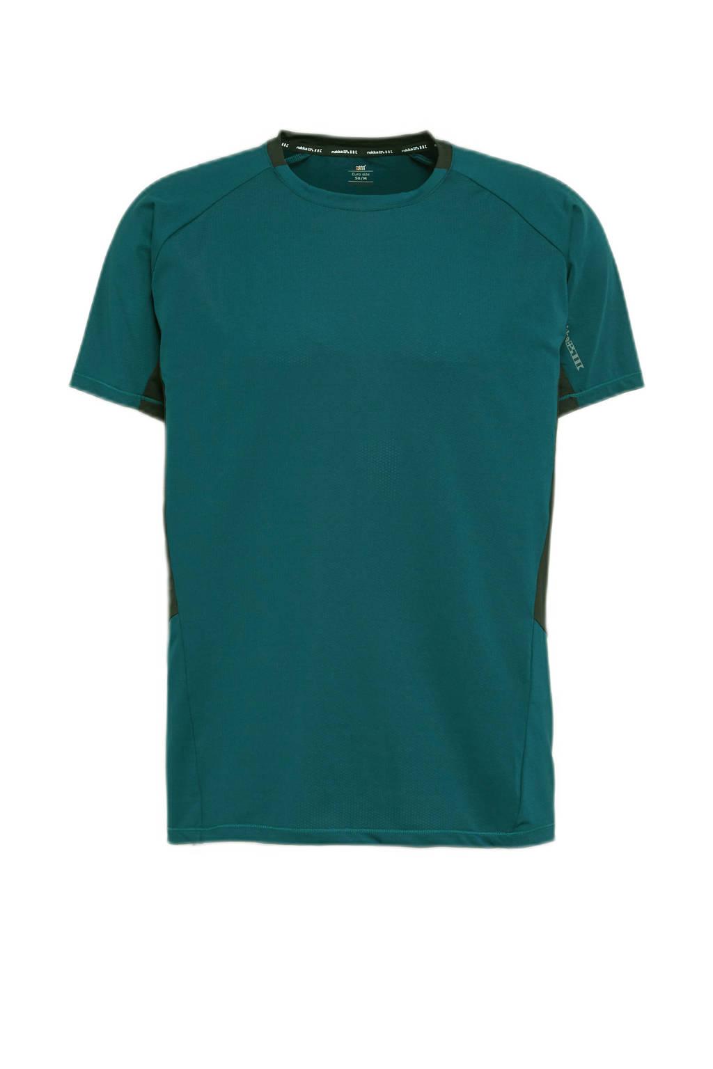 Rukka   hardloop T-shirt Vilppula groen, Groen