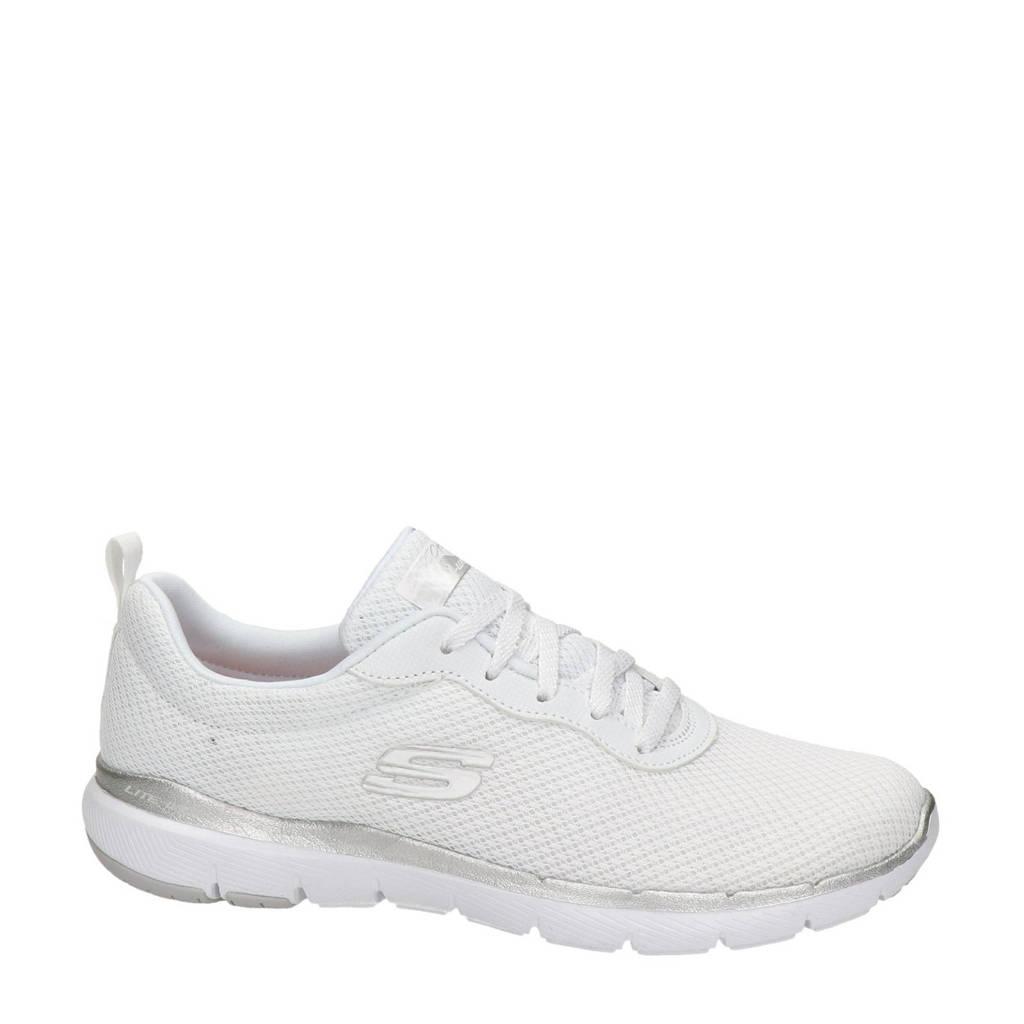 Skechers Flex Appeal 3.0  sneakers wit, Wit