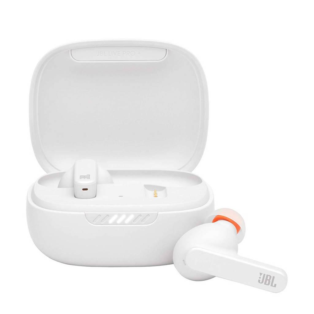 JBL Live Pro+ TWS draadloze in-ear hoofdtelefoon (wit), Wit