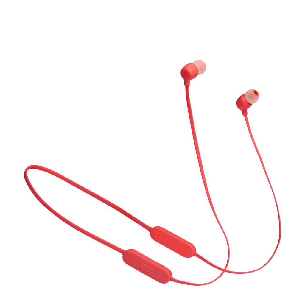 JBL Tune 125 BT draadloze in-ear hoofdtelefoon (oranje), Rood