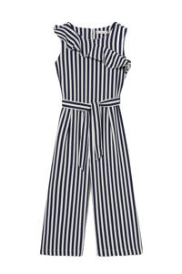 C&A Smart & Pretty gestreepte jumpsuit donkerblauw/wit, Donkerblauw/wit