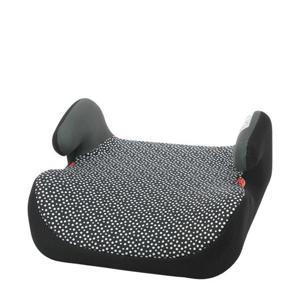 auto stoelverhoger 15-36kg zwart/witte stip