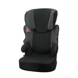 autostoel junior 15-36kg zwart/witte stip