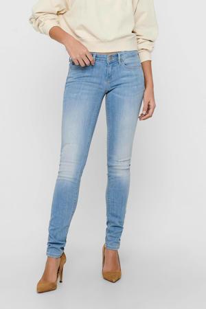 low waist skinny jeans ONLCORAL light blue denim