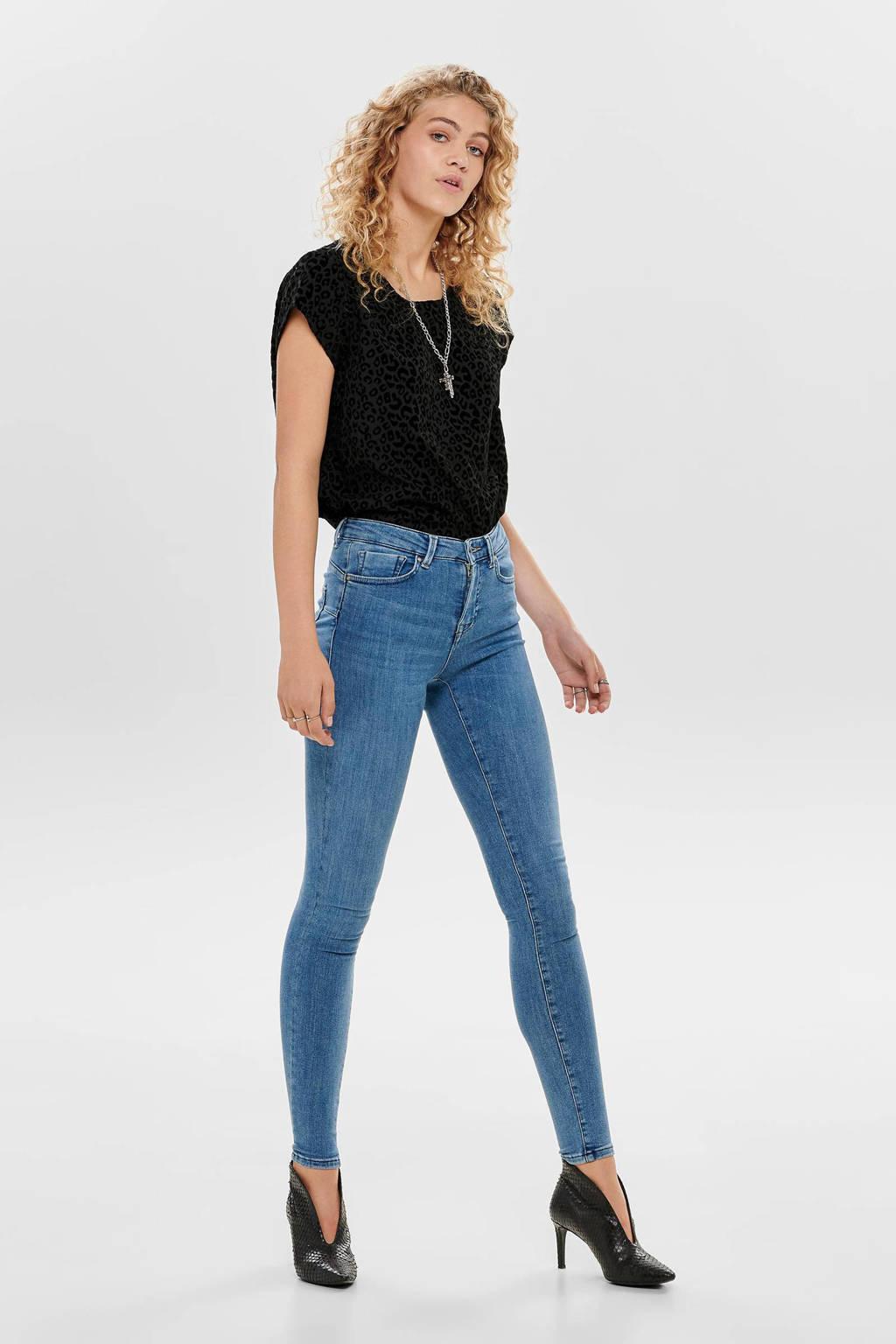 ONLY skinny jeans ONLPOWER light blue denim, Light blue denim