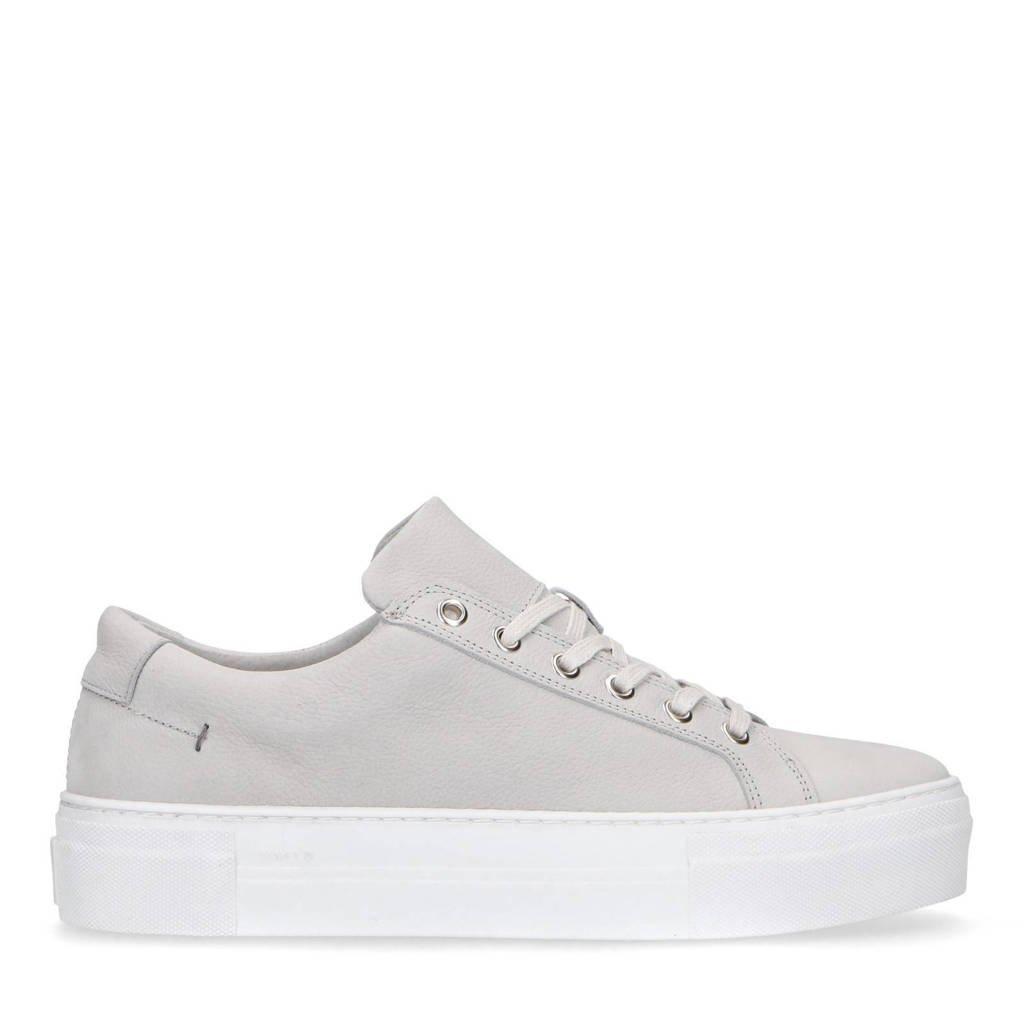 Manfield   nubuck sneakers beige, Beige