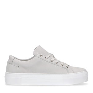 nubuck sneakers beige