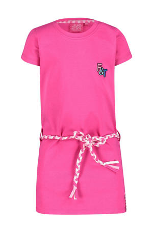 jurk Mus met printopdruk roze