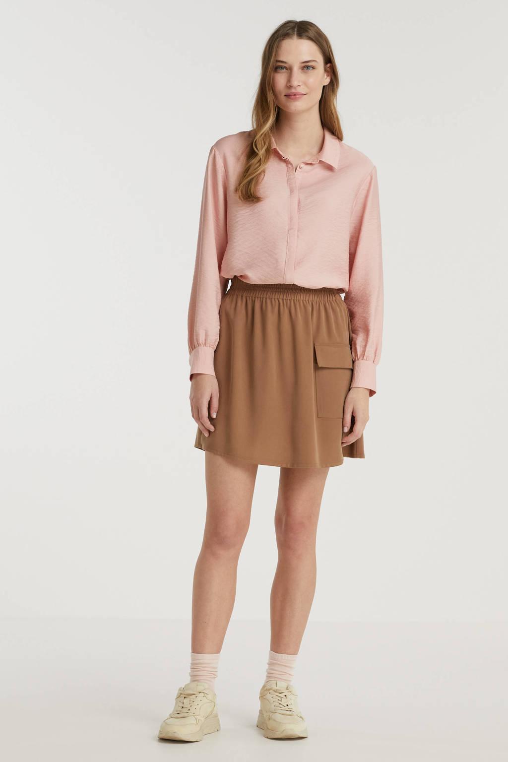 Another-Label blouse Sakura pastelroze, Pastelroze