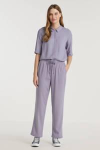 Another-Label straight fit broek Seisen blauw, Blauw