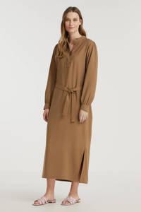 Another-Label blousejurk Shiki lichtbruin, Lichtbruin
