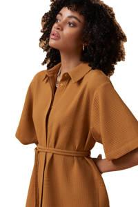 Another-Label blousejurk Liatris bruin, Bruin