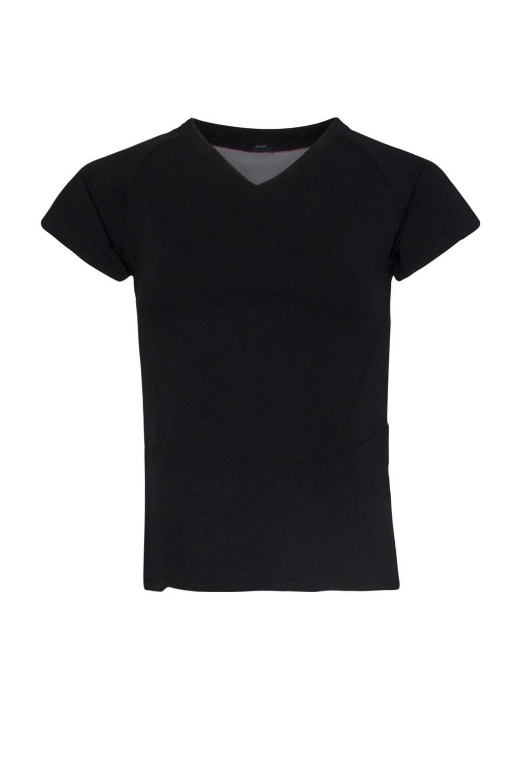 Active Panther sport T-shirt zwart, Zwart