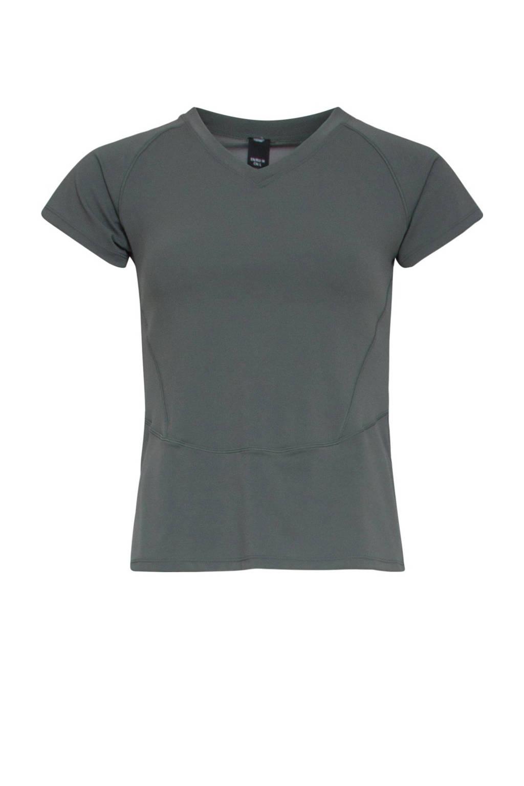 Active Panther sport T-shirt olijfgroen, Olijfgroen