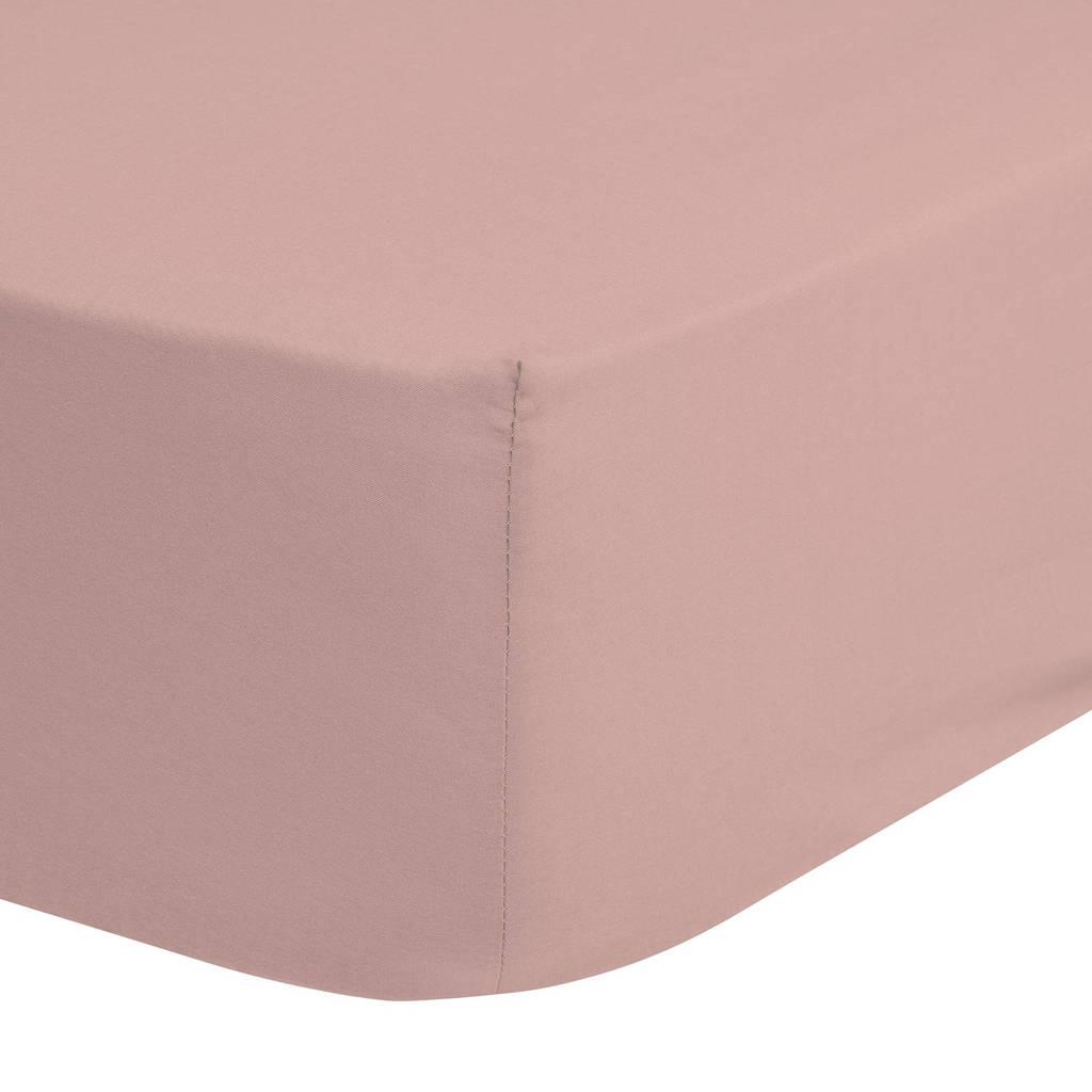 Hip katoenen hoeslaken  Roze