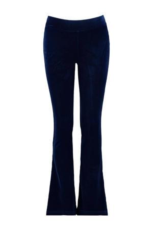 flared broek Pom donkerblauw
