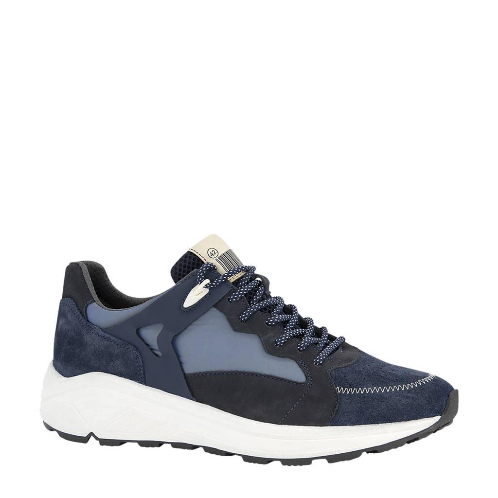 Oxmox   suède sneakers blauw, Blauw