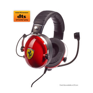 T.Racing Scuderia Ferrari Editie-DTS gaming headset