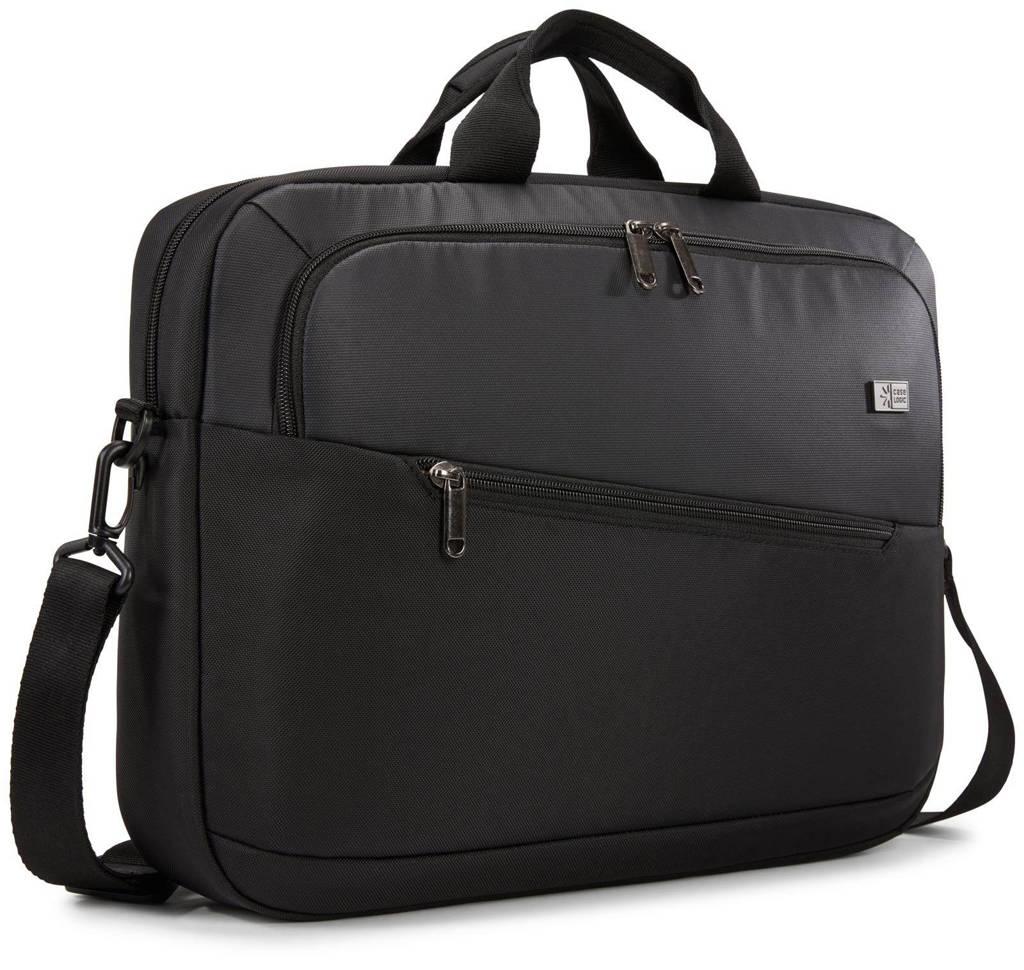 Case Logic Propel Attache 15.6 inch laptoptas (zwart), Zwart