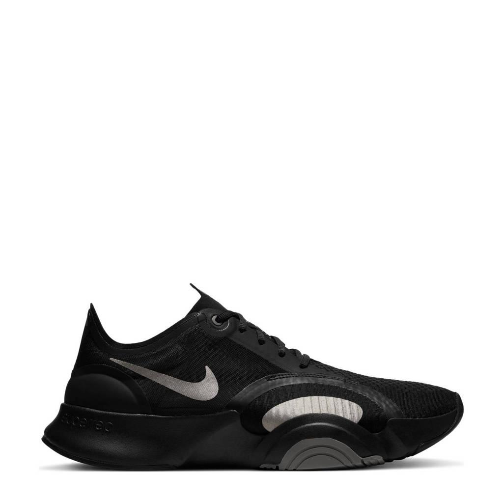 Nike SuperRep Go  sportschoenen zwart/zilver/grijs, Zwart/zilver/grijs