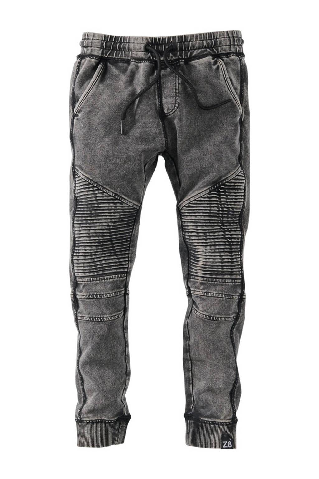 Z8 joggingbroek Dean S21 grijs stonewashed, Grijs stonewashed