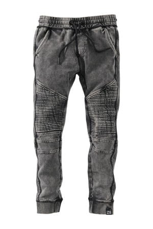 joggingbroek Dean S21 grijs stonewashed
