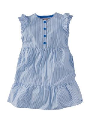 gestreepte jurk Audrey blauw/wit