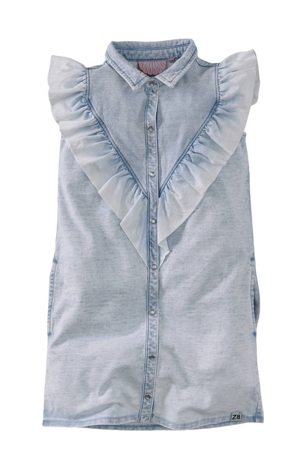 Z8 spijkerjurk Horace light denim, Light denim