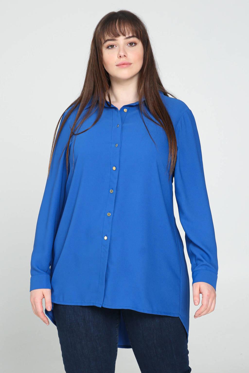 PROMISS tuniekblouse blauw, Bleu royal
