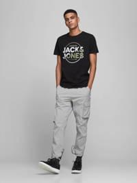 JACK & JONES CORE T-shirt Star met logo zwart, Zwart