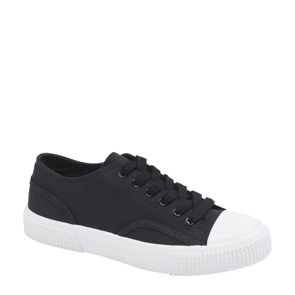 Vty   sneakers zwart/wit, Zwart/wit