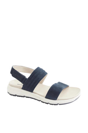 nubuck sandalen blauw