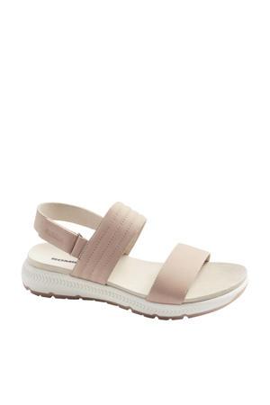 nubuck sandalen lichtroze